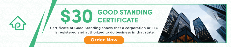 PropLogix Certificate of Good Standing - CARES Act some lenders may require