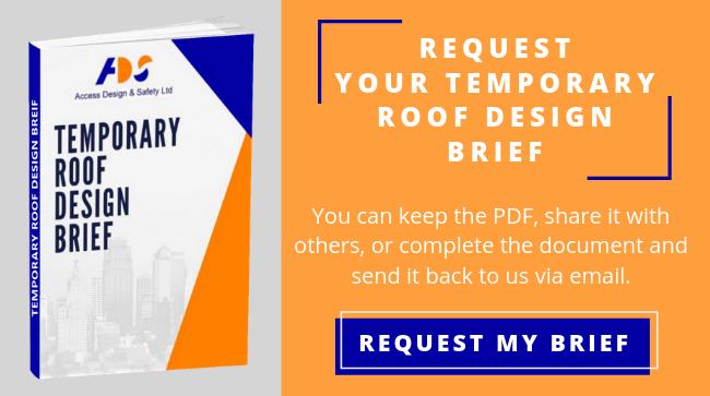 Request Temporary Roof Design Brief