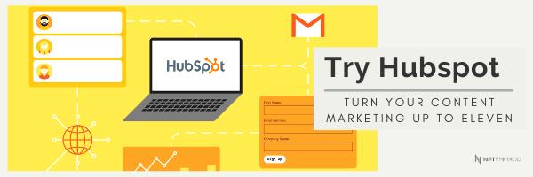 Try Hubspot Marketing Nifty Method