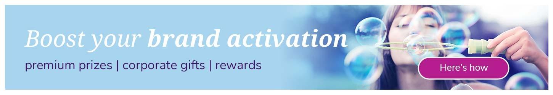 brand activation with rewards