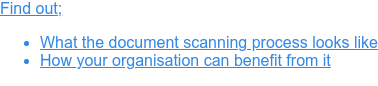 Free Infographic: The Document Scanning Process Explained