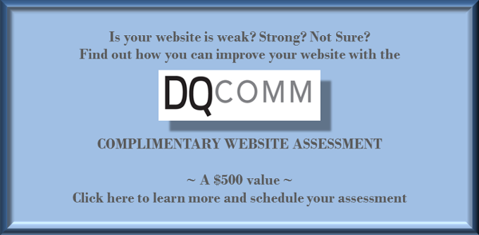 DQCOMM Website Review CTA