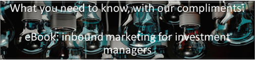 Inbound Marketing for Investment Managers ebook