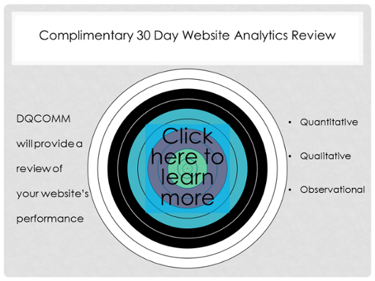 Complimentary 30 Day Website Analytics Review