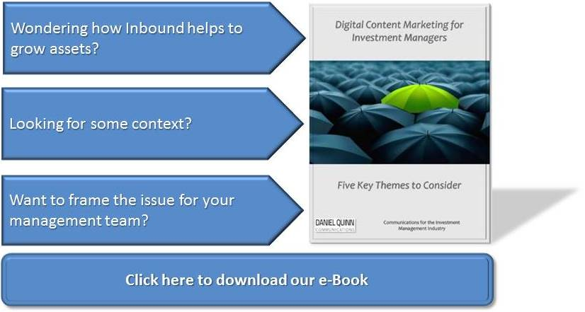 Download our e-Book: Digital Content Marketing for Investment Managers