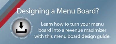 Menu Board Best Practices