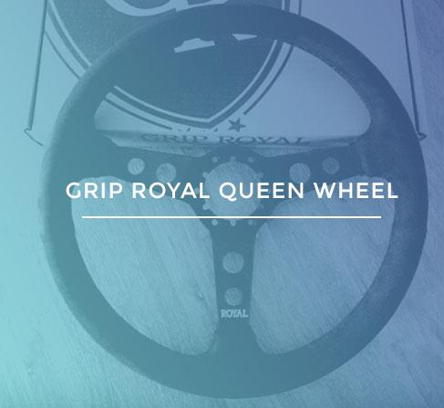 Grip Royal Queen Steering Wheel KoruWorks