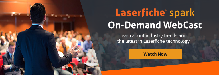 Laserfiche Spark On-demand webcast