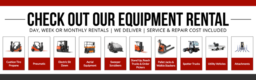 Forklift rentals in northern california