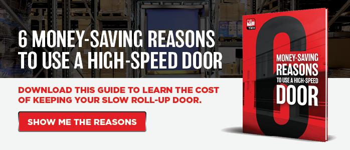 6 Money-Saving Reasons to Use a High-Speed Door
