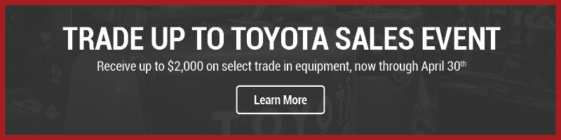 Trade Up to Toyota Sales Event - Homepage