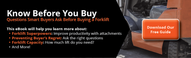 Questions smart forklift buyers ask.