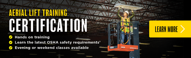 Aerial Scissor Lift Training Certification