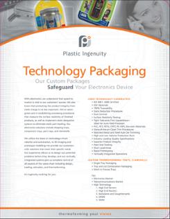 Technology Packaging Capabilities Sheet
