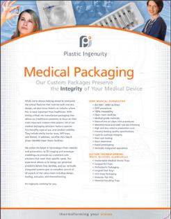 Medical Packaging Capabilities Sheet