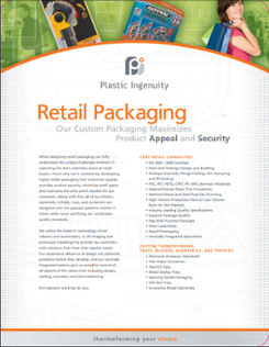 Retail Packaging Capabilities Sheet