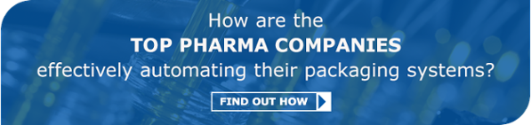 How are the top pharma companies effectively automating their packaging systems?