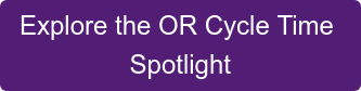 Explore the OR Cycle Time  Spotlight