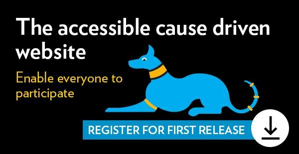 Register for the Accessible Cause Driven Website