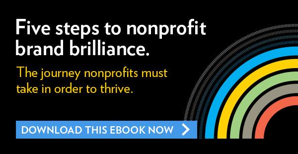5 Steps to nonprofit brand brilliance eBook