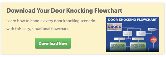 Download Your Door Knocking Flowchart