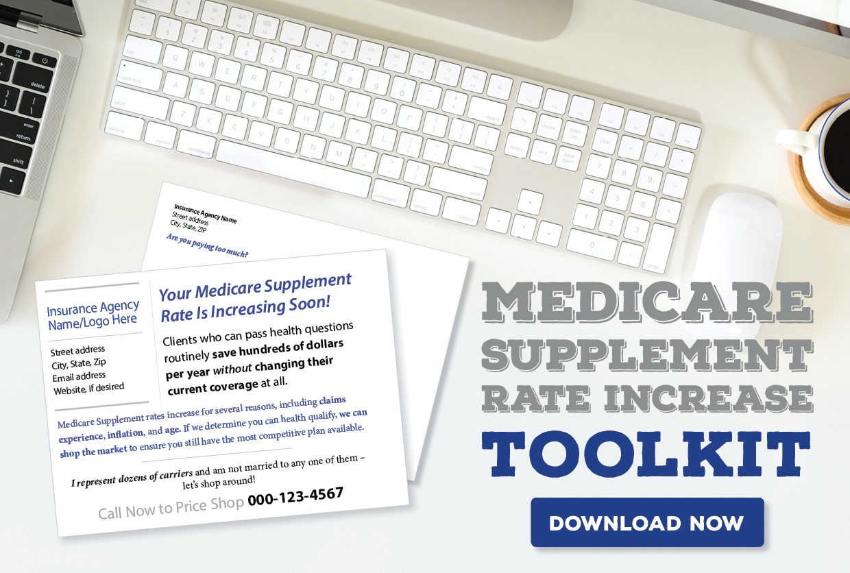Get the Medicare Supplement Rate Increase Toolkit