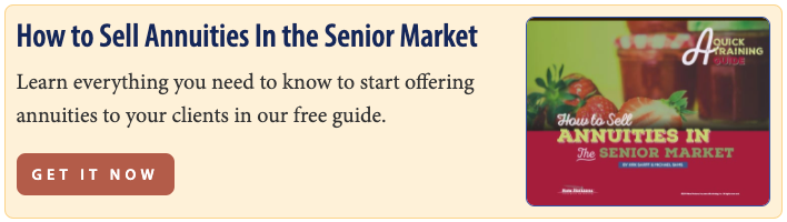 How to Sell Annuities In the Senior Market Guide - Get It Now