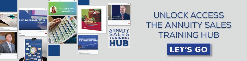Unlock access to the annuity sales training hub