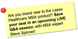 Save your seat at an upcoming LIVE Q&A session with MSA expert Steve Spinner!