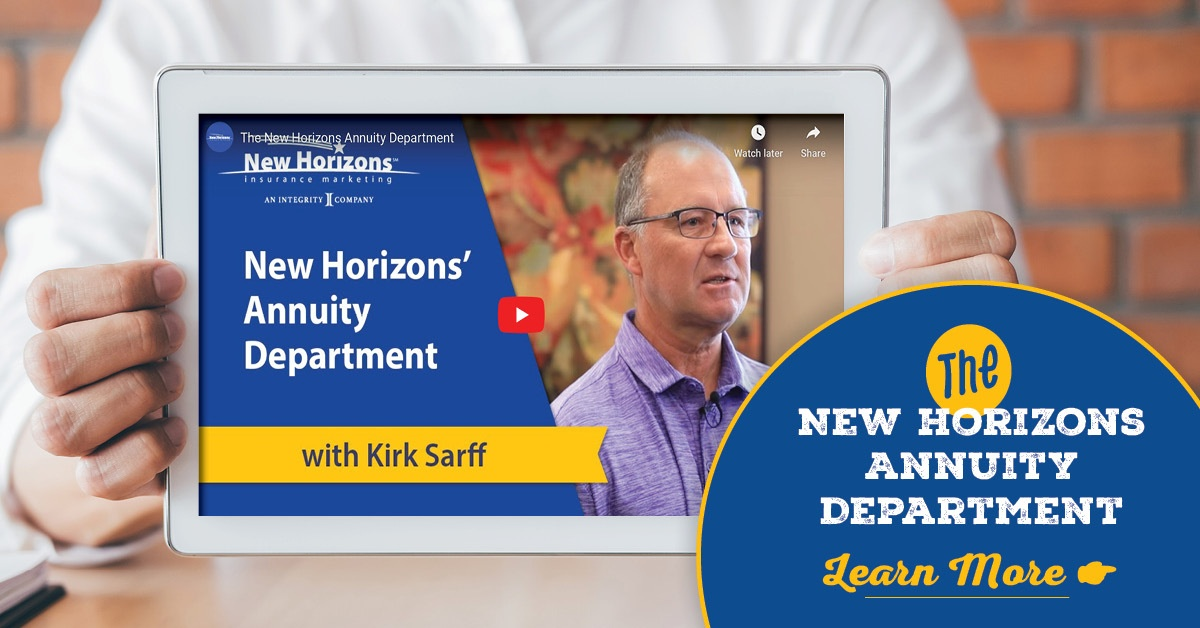 The New Horizons Annuity Department