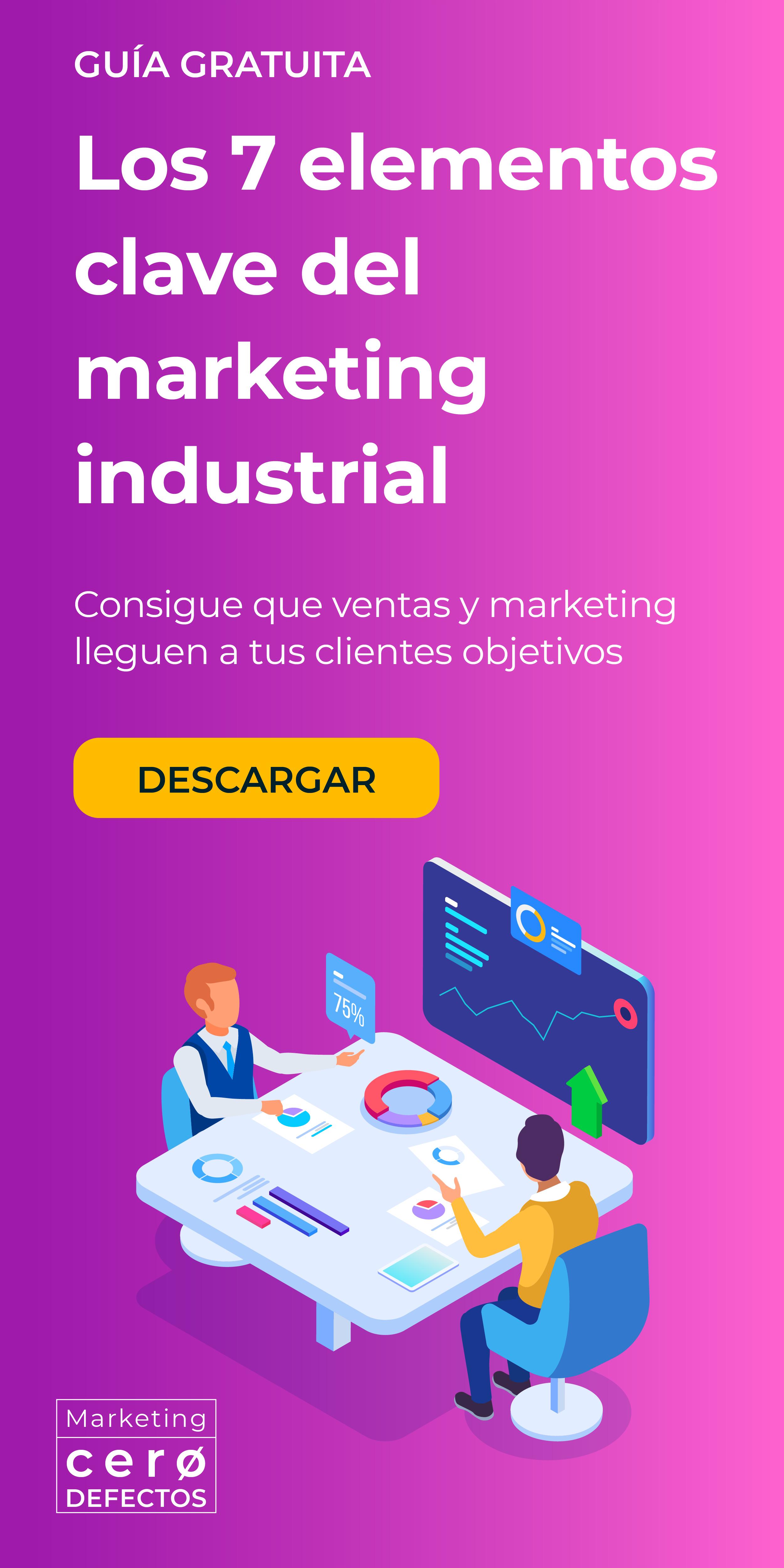7 claves del marketing industrial