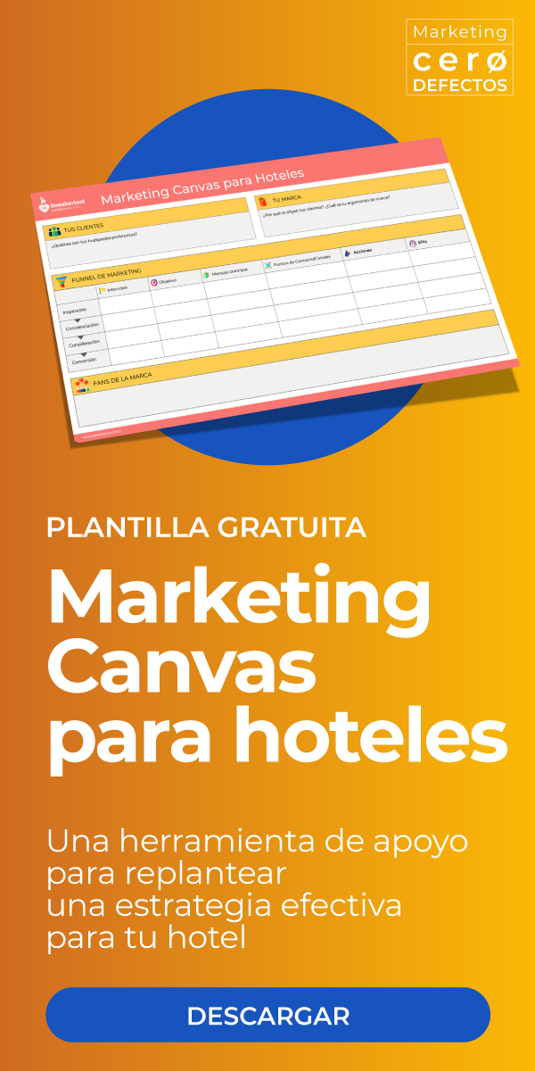 Marketing Canvas para hoteles