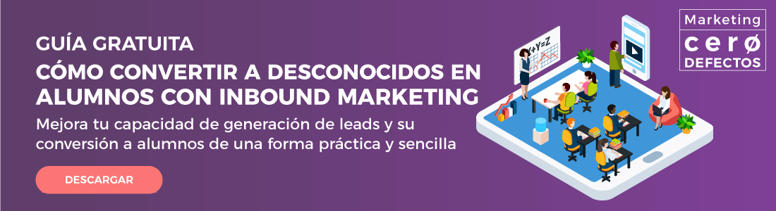inbound marketing educación