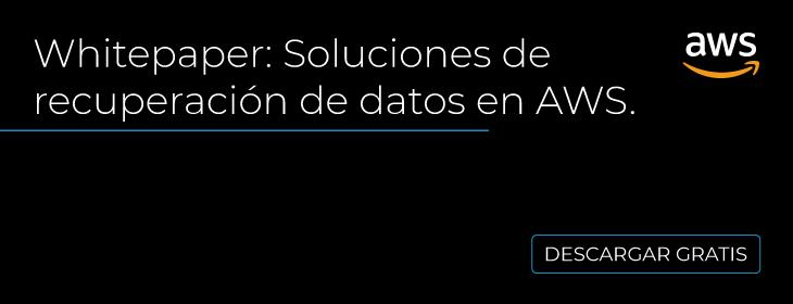 Recuperación de datos en AWS México