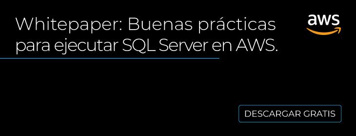 SQL Server en AWS México