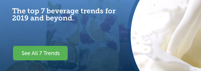 Use this link to view the Top 7 Beverage Trends for 2018 and beyond.