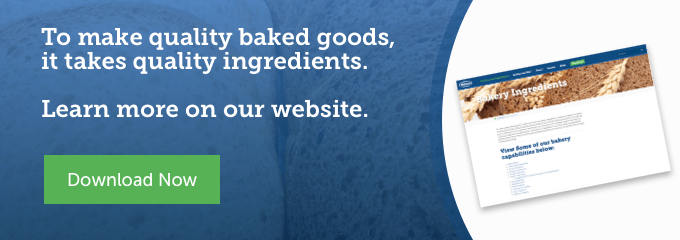View the Watson Bakery Ingredients
