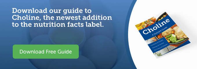 Download our Guide to Choline