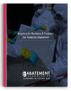 Negative Air Machines & Products for Asbestos Abatement