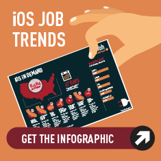 iOS Developer Infographic