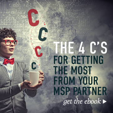 Getting the Most from your MSP Partner