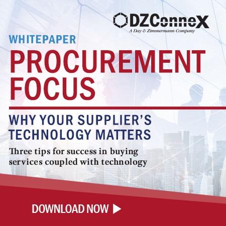 DZX Procurement Focus Supplier Technology