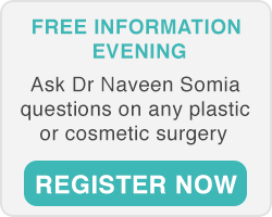 Plastic Surgeon Sydney Dr Naveen Somia information evening
