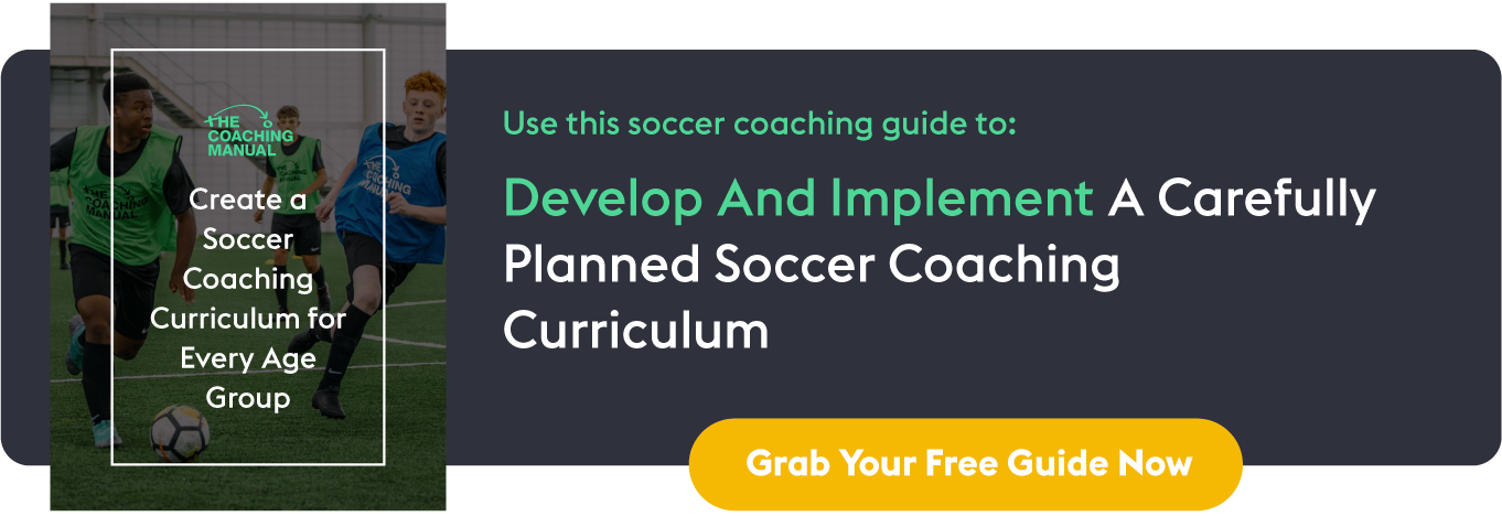 Create A Soccer Coaching Curriculum For Every Age Group: In-line