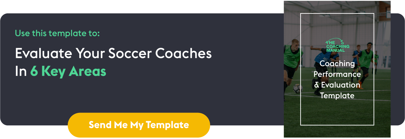 Coaching Performance & Evaluation Template: In-line