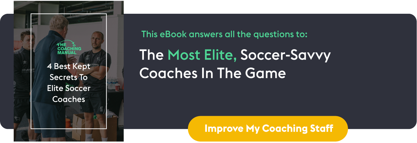 4 Best Kept Secrets To Elite Soccer Coaches: In-line