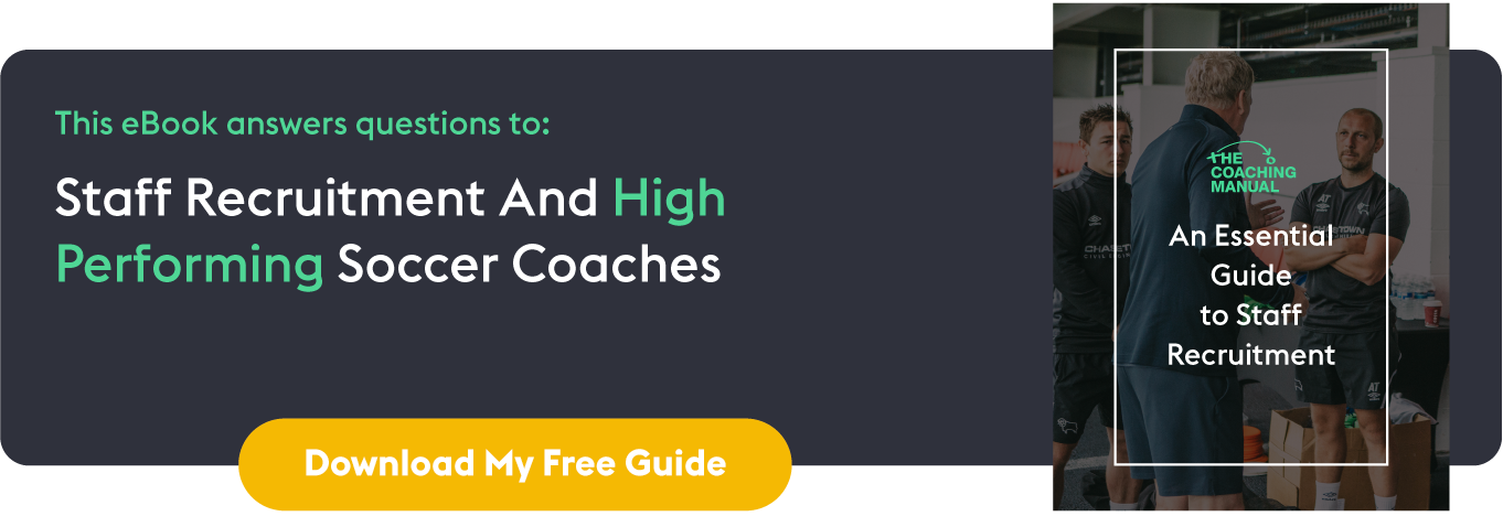 Director of Coaching: An Essential Guide to Staff Recruitment: In-line