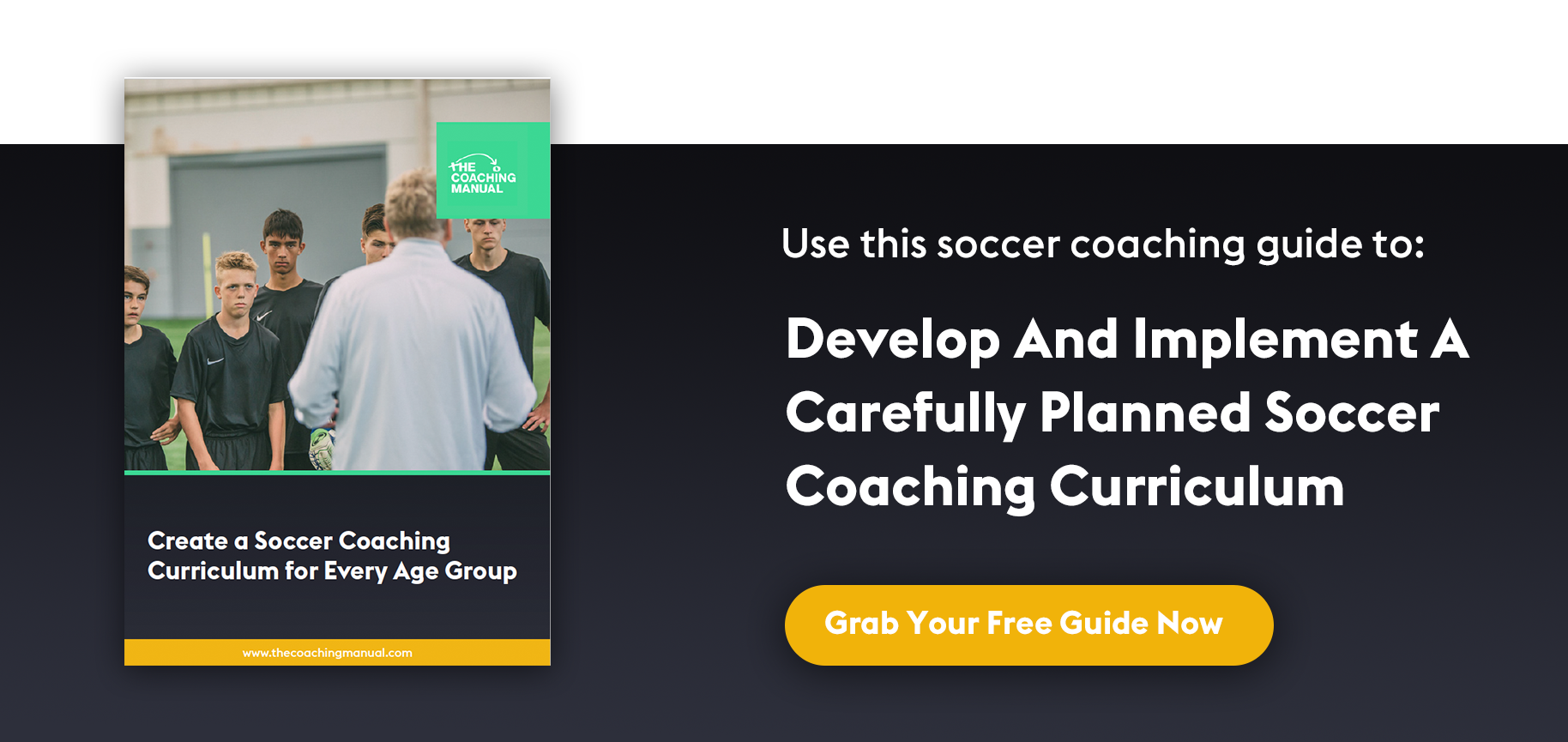 Soccer Coaching Curriculum Guide