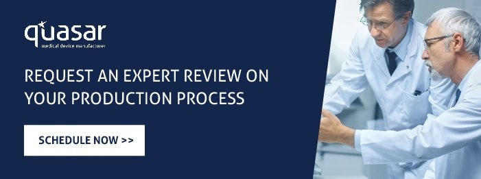 Request an expert review on your production process