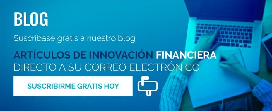 Recibir artículos de innovación financiera a mi correo electrónico